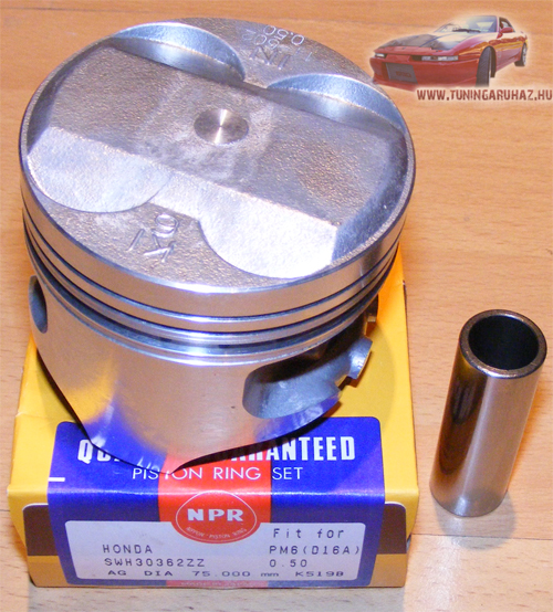 Honda Civic CRX D13 D14 D15 D16 NPR nagykompressziós dugattyú szett P29