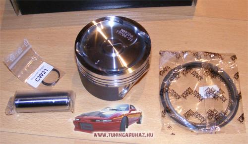 Opel Calibra Astra C20LET Z20 Z20LET Z20LEH Turbo Wössner kovácsolt dugattyú szett