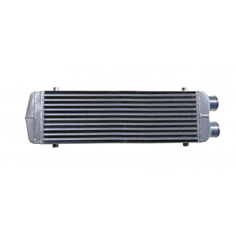 550x180x65mm intercooler mindkét csatlakozása egy oldalon (Civic, Swift, Astra, Calibra, VW 1.9 TDi) 63mm csatlakozásokkal TW